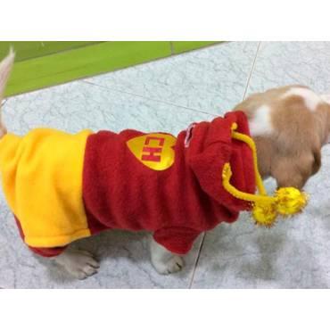 Disfraz de chapulin para perro
