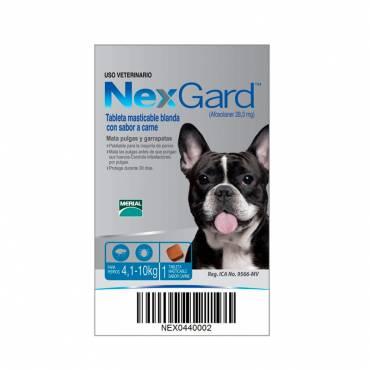 NexGard® 4.1 a 10 Kg