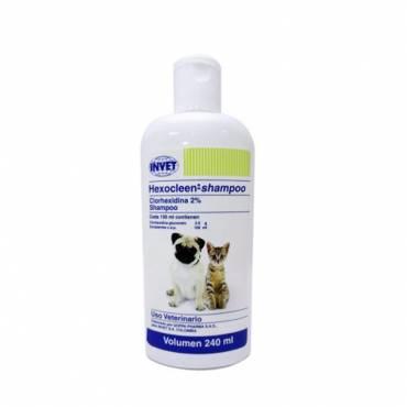 Hexocleen Shampoo Antiséptico Para Perros Y Gatos 240 Ml