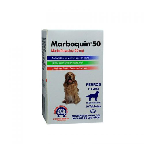 MARBOQUIN 50 X TABLETA