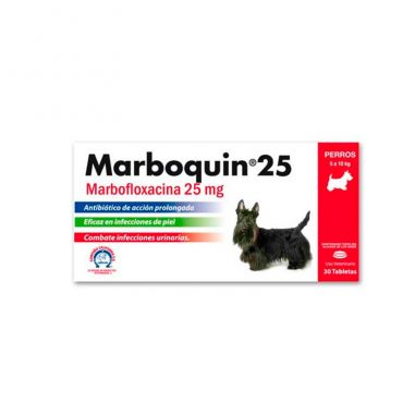 MARBOQUIN 25 MG X TABLETA